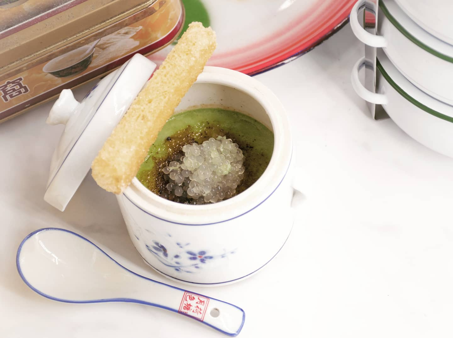Sweet Thoughts by MOD Kaya Toast Steamed Pudding