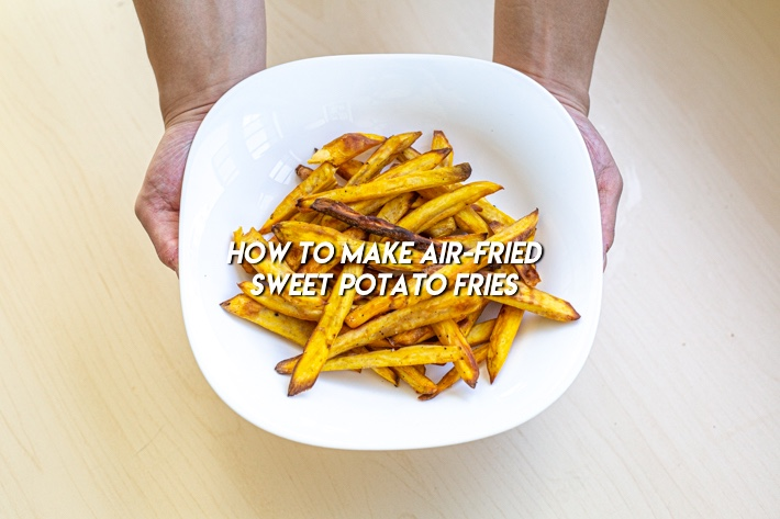 AIR FRYER SWEET POTATOES FRIES COVER PHOTO