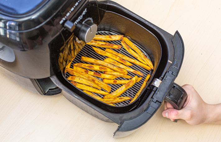 AIR FRYER SWEET POTATOES STEP 11