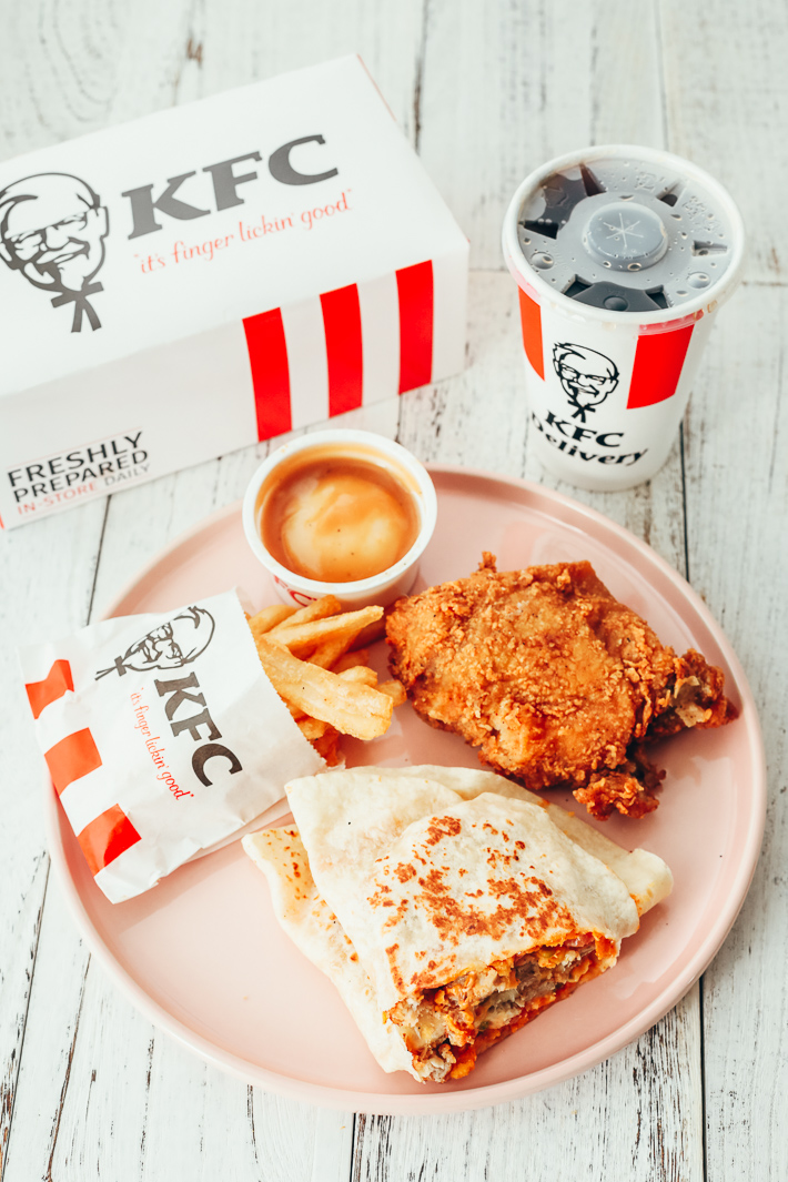 Chipotle Meltz KFC Singapore