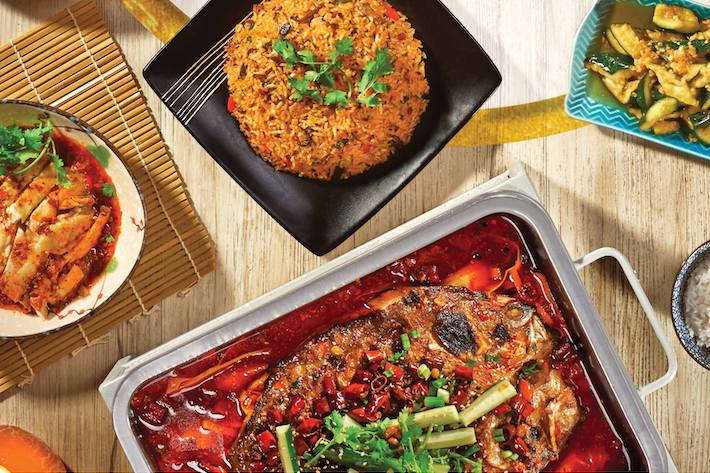 Chong Qing Grilled Fish Serangoon from FB