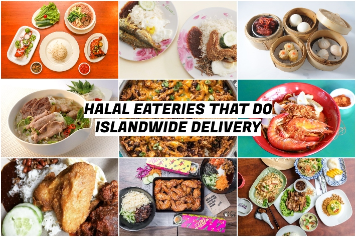 HALAL EATERIES THAT DO ISLANDWIDE DELIVERIES