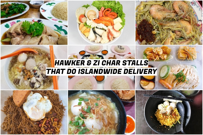 HAWKER ZI CHAR STALLS THAT DO DELIVERY