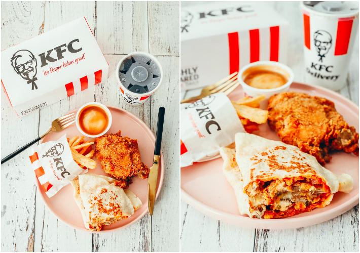 KFC Chipotle Meltz