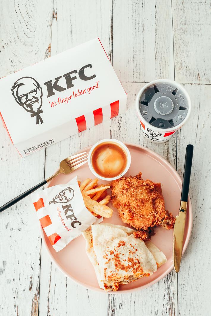 KFC Singapore Chipotle Meltz