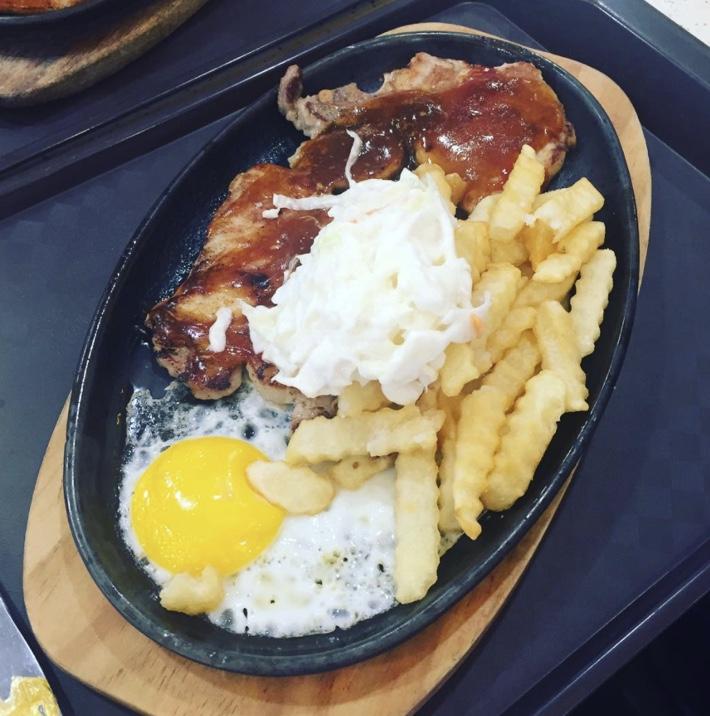 hot plate western food