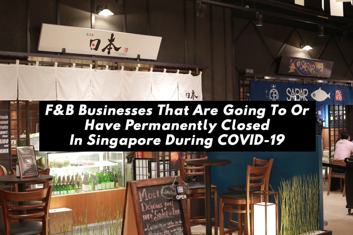F&B Businesses That Have Permanently Closed During COVID-19 Cover Photo