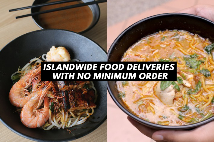Islandwide Food Deliveries With No Minimum Order Cover Photo