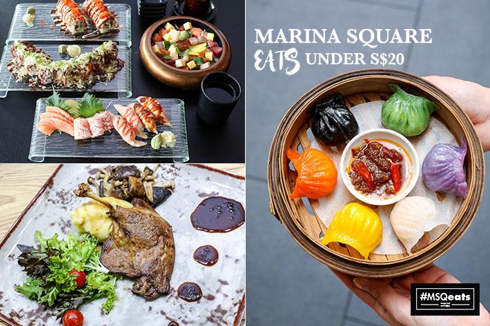 Marina Square Food Guide