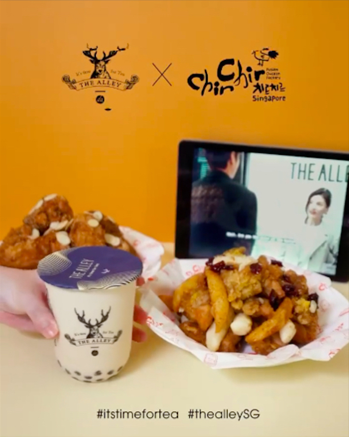 The Alley x KFood Holdings Collab