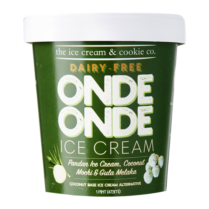 The Ice Cream & Cookie Co. Onde Onde Ice Cream from official website