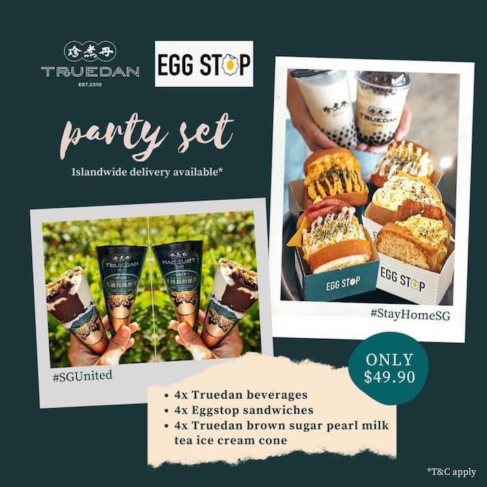 Truedan x Egg Stop Collab from FB