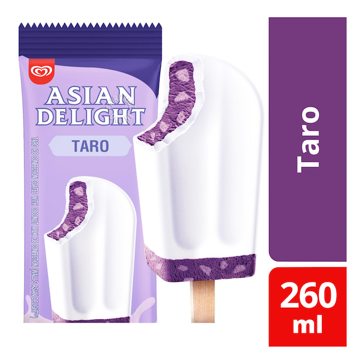 Wall's Asian Delight Taro Ice Cream