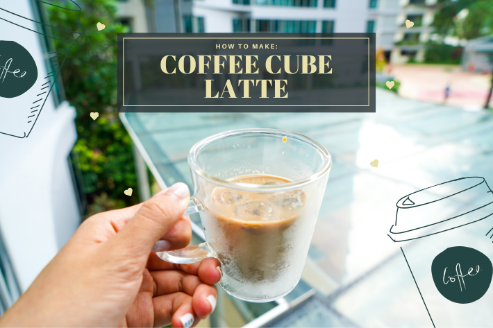 coffee cube latte cover
