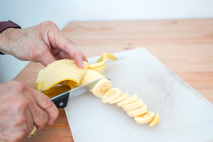 korean fresh banana milk step 2