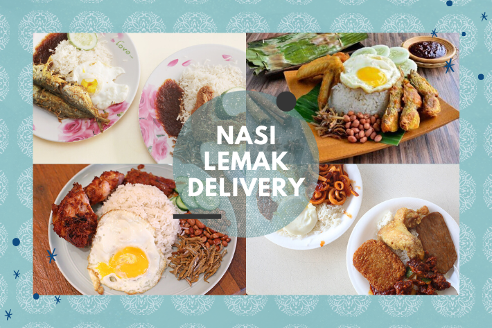 nasi lemak delivery cover