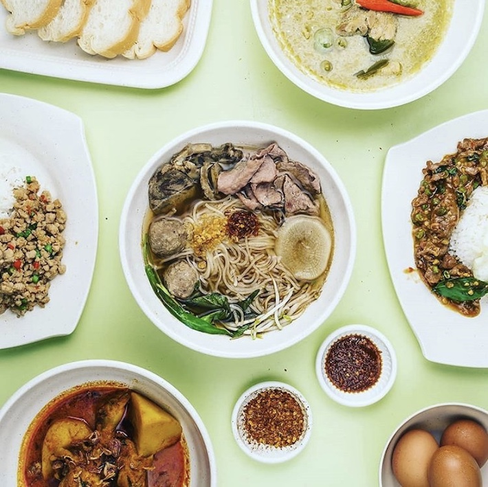 omar's thai beef noodle & rice
