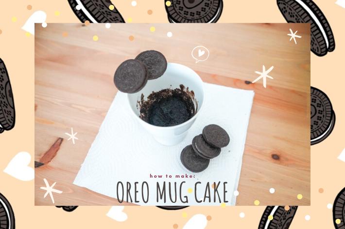 oreo mug cake cover