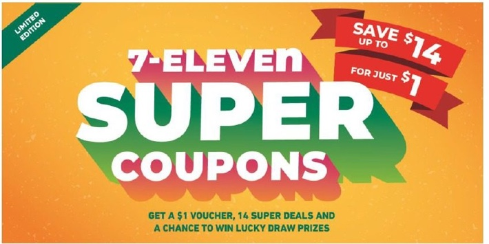 7-ELEVEN COUPON BOOKS