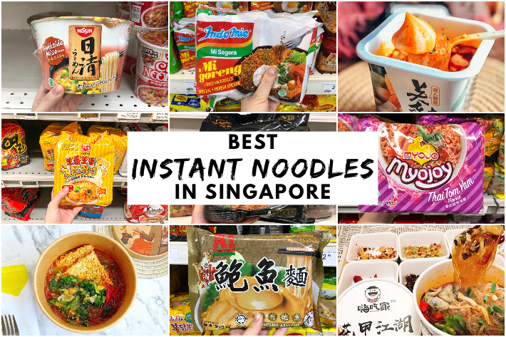 BEST INSTANT NOODLES IN SINGAPORE COVER