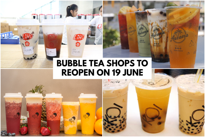 BUBBLE TEA SHOPS REOPEN COVER