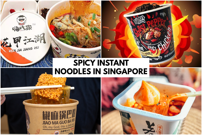 SPICY INSTANT NOODLES SINGAPORE
