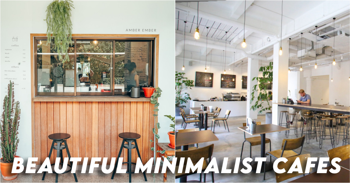 Beautiful Minimalist Cafes