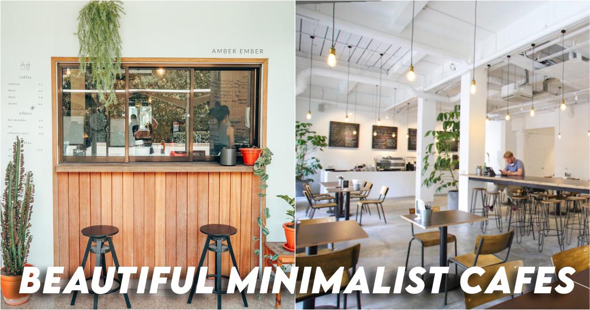 Beautiful Minimalist Cafes