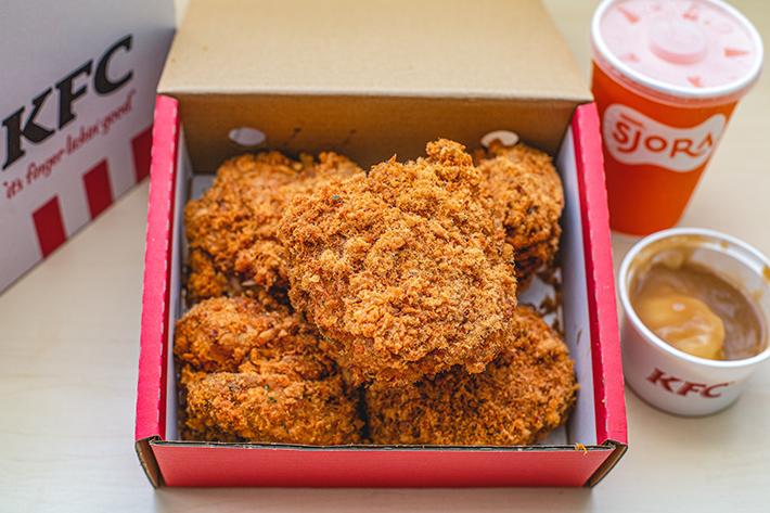 Flossy Crunch Chicken KFC new