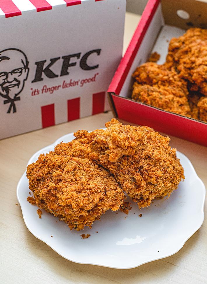 Flossy Crunch Chicken KFC