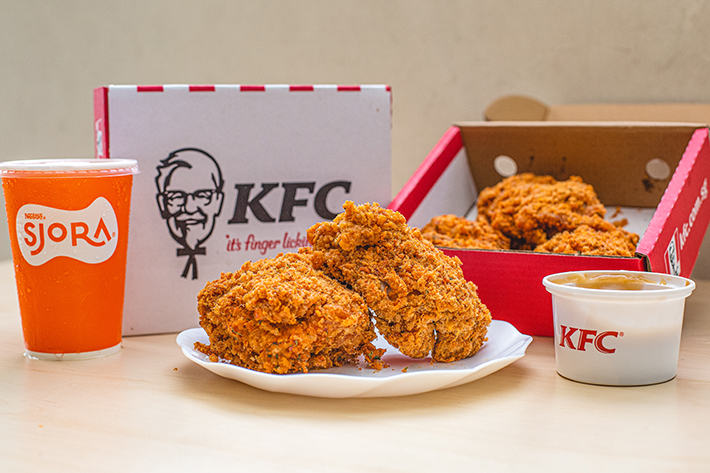 KFC Flossy Crunch Chicken cover