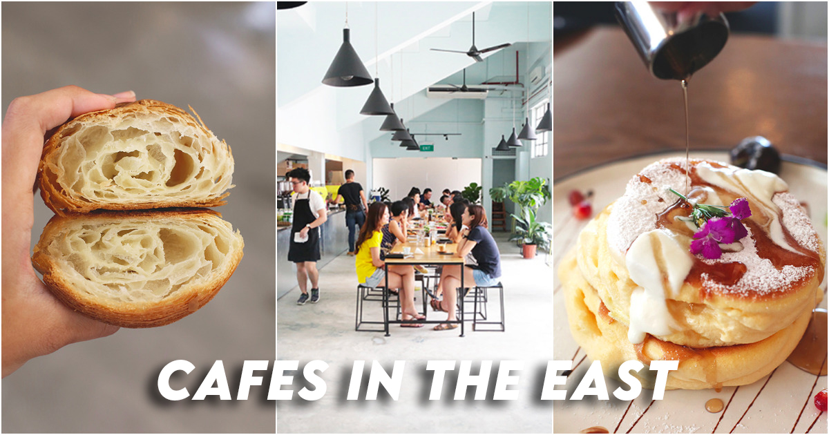 Cafes in east Singapore