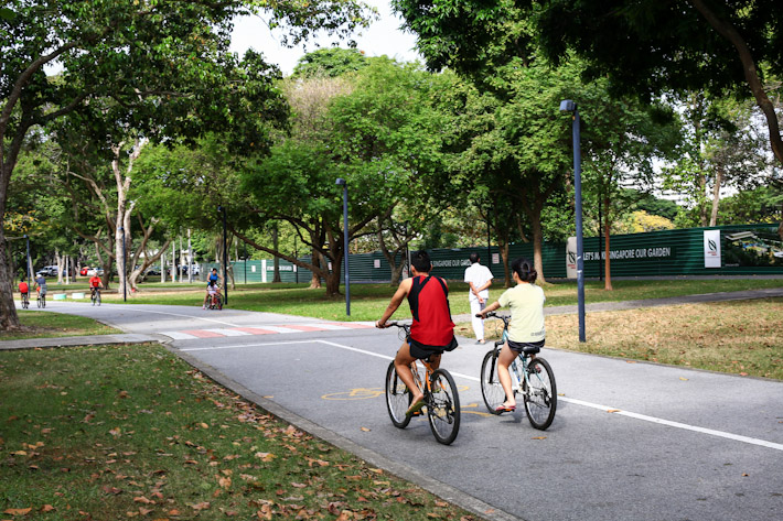East Coast Park Cycle