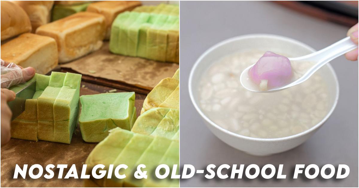 Nostalgic & Old-school Food