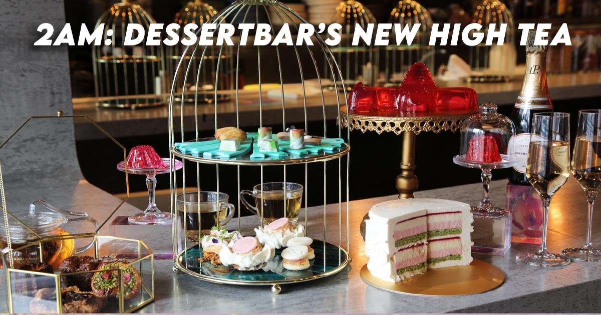 2am Dessert Bar High Tea