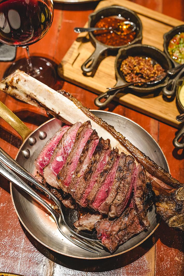 Bedrock Tomahawk Steak