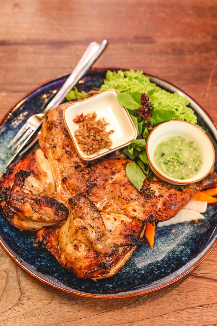 Paper Rice Hand Pulled Grilled Chicken