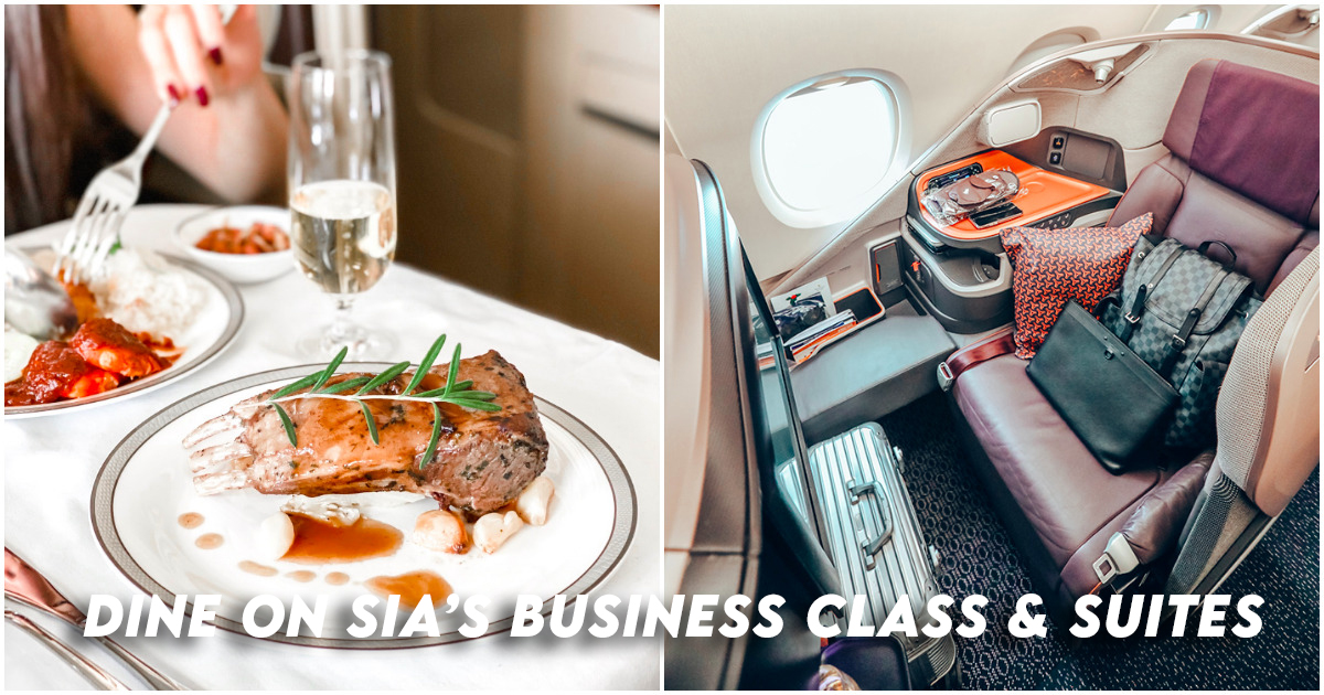 Singapore Airlines Dining