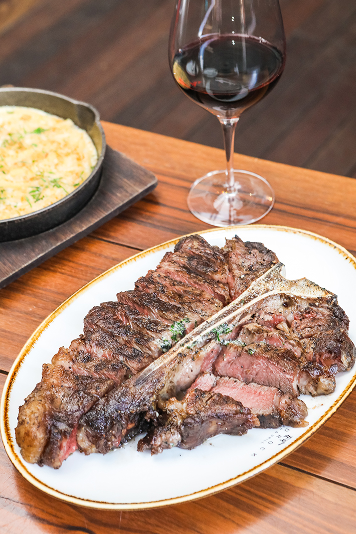 Bedrock Porterhouse Steak
