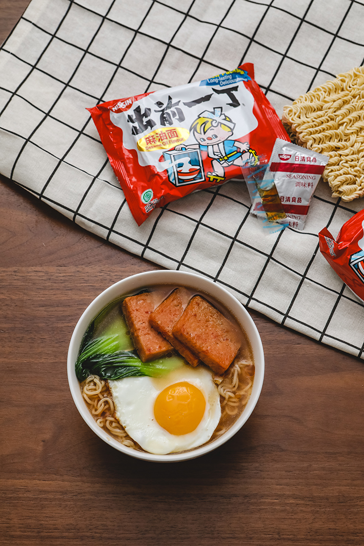 Hong Kong Style Instant Noodles