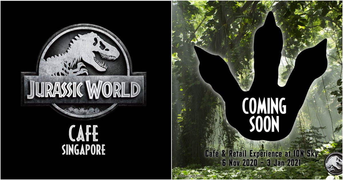 Jurassic World Cafe Singapore