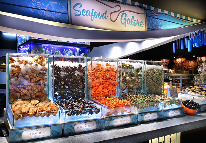 Buffet Town - Seafood on Ice Kiosk