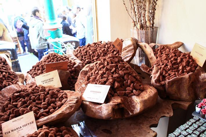 Dark Sugars Chocolate Truffle