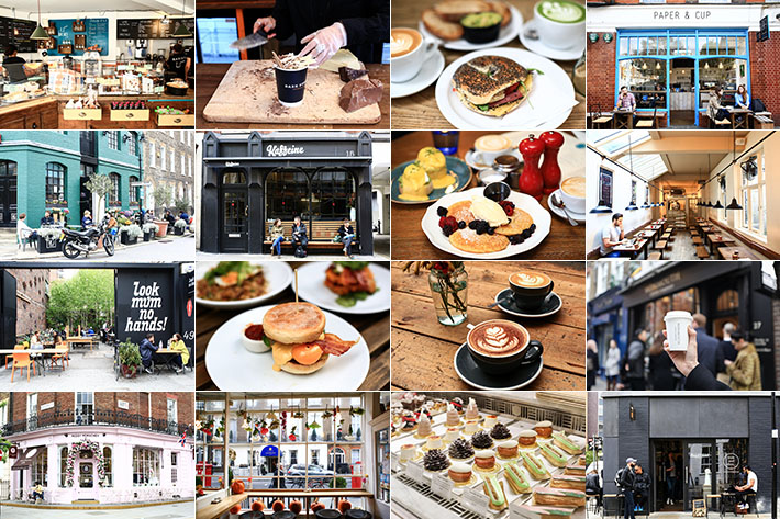London Best Cafes