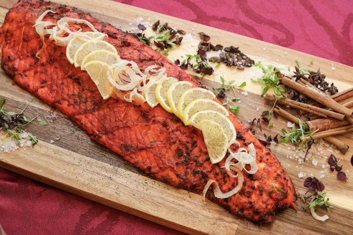 Royale Baked Tandoori Salmon