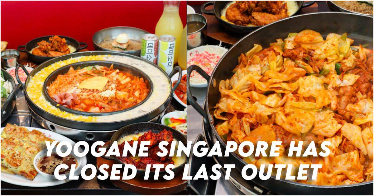 Yoogane Singapore Closed