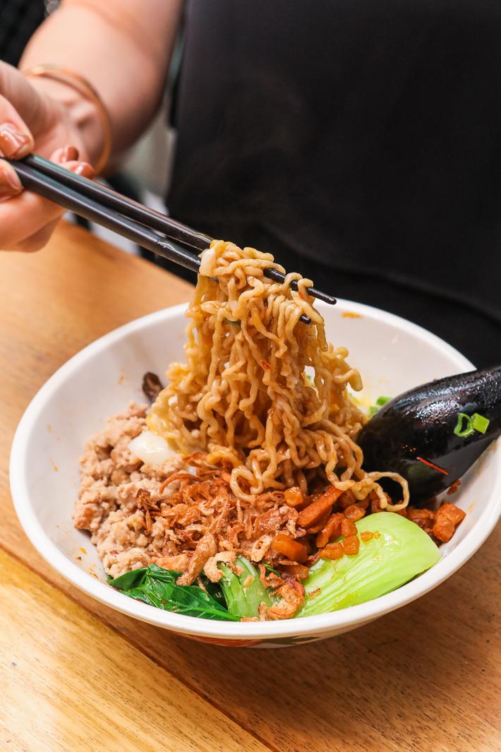 I want my noodle Bak Chor Mee