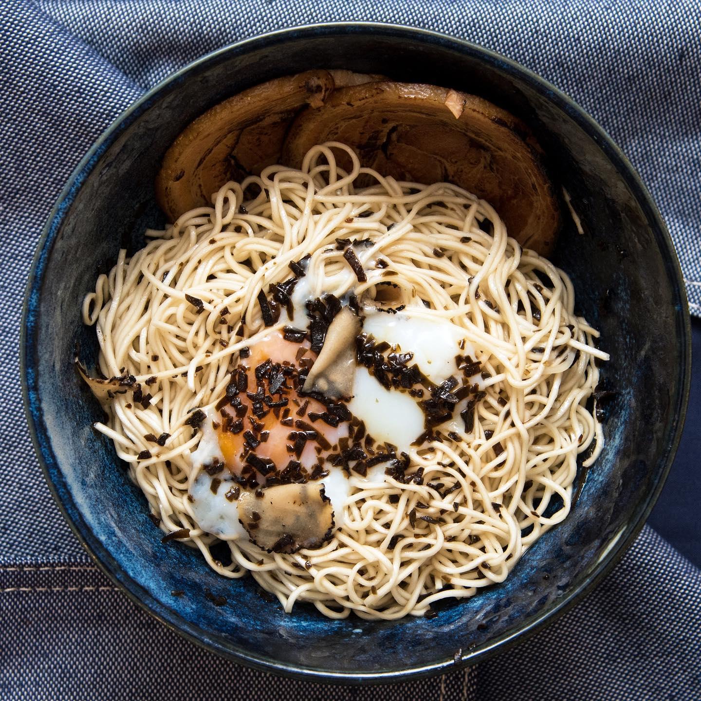 Kanshoku Ramen Dry Truffle Ramen