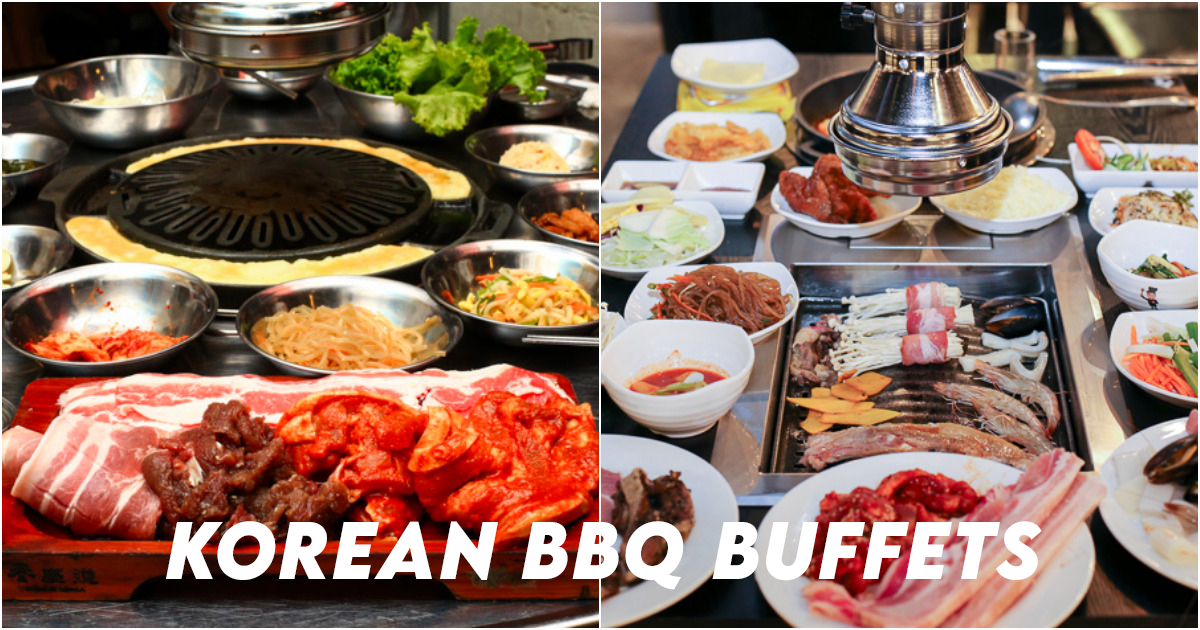 Korean BBQ Buffet Singapore