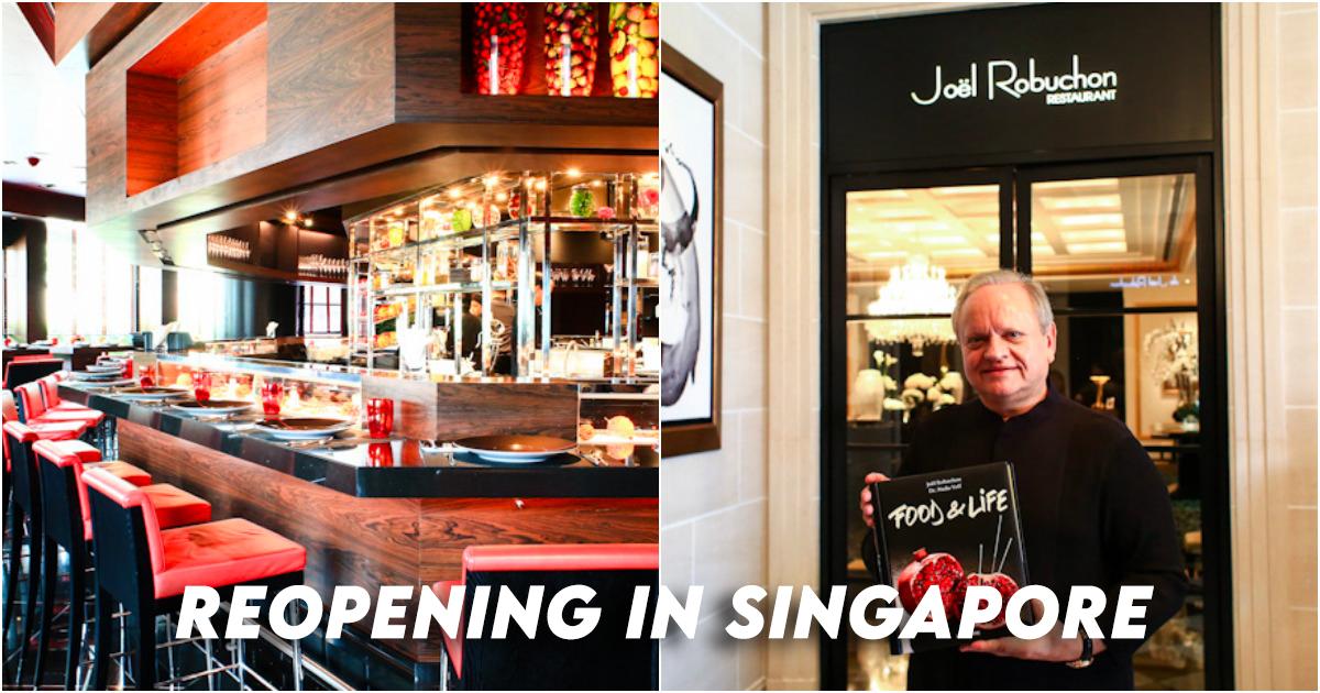 Joel Robuchon Singapore